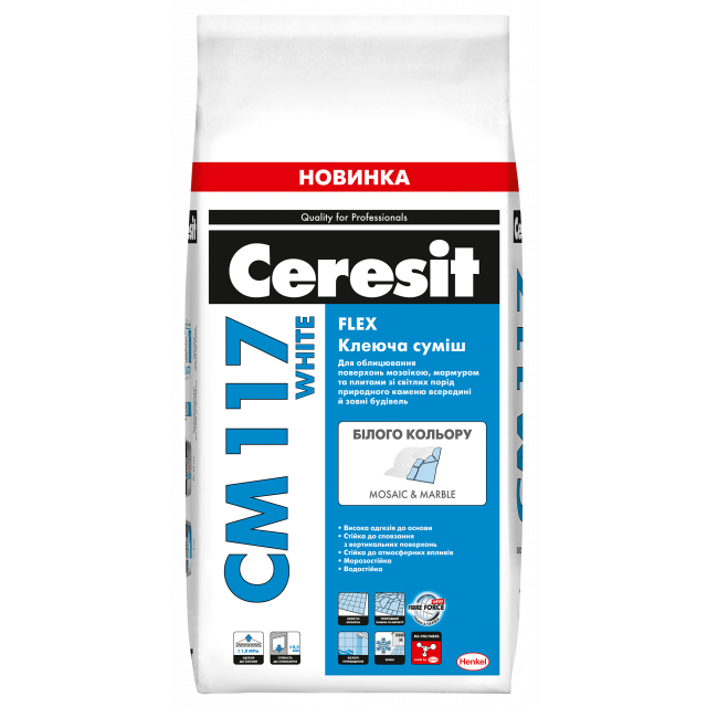 Ceresit CM 117 WHITE FLEX