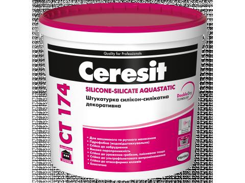 Ceresit CT 174 Silicone-Silicate Aquastatic (1,0 мм)